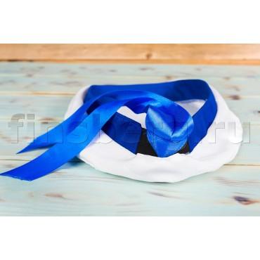 Бескозырка детская Моряк с голубым кантом
