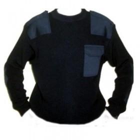 Классический свитер МЧС, черный