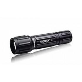 Карманный фонарик LED, черного цвета
