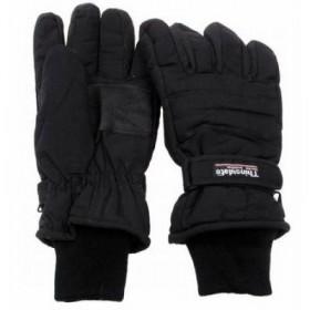 Перчатки зимние с утеплителем THINSULATE, цвет черный