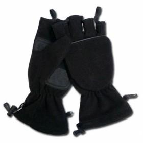 Перчатки-варежки, флис